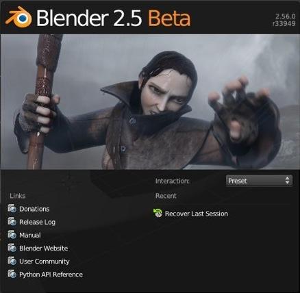 Blender 2.56