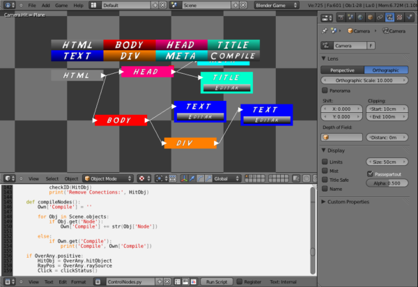 Editor HTML Nodal
